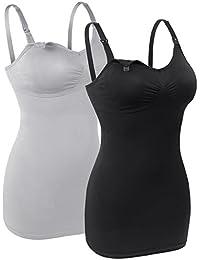 Womens Seamless Nursing Bra for Breastfeeding Wirefree Maternity Wear Bralette Packof 2