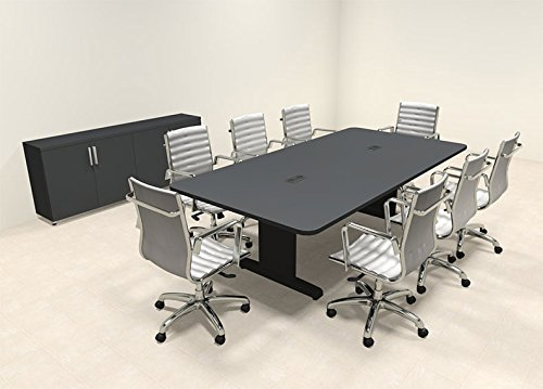 Modern Rectangular 8' Feet Conference Table, #MT-CSD-C42