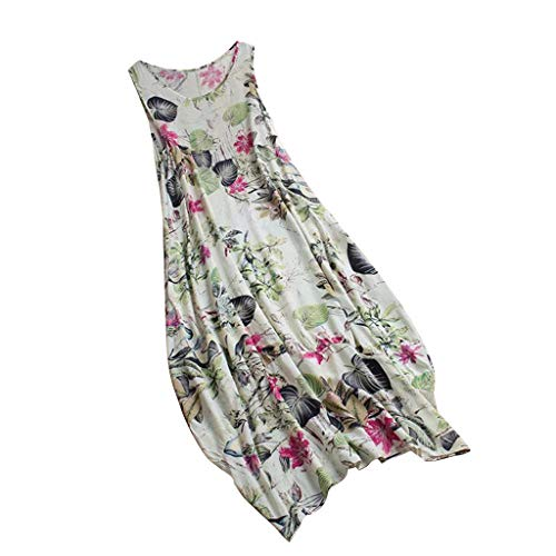 Big Sale YetouWomen's Summer Organza Floral Print Wedding Party Ball Prom Gown Cocktail Dress Green