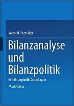 Book Bilanzanalyse und Bilanzpolitik: Einführung in die Grundlagen (German Edition)
