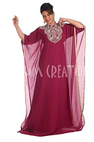 Maxim Creation Modern Farasha Kaftan Dress for Women by 4910