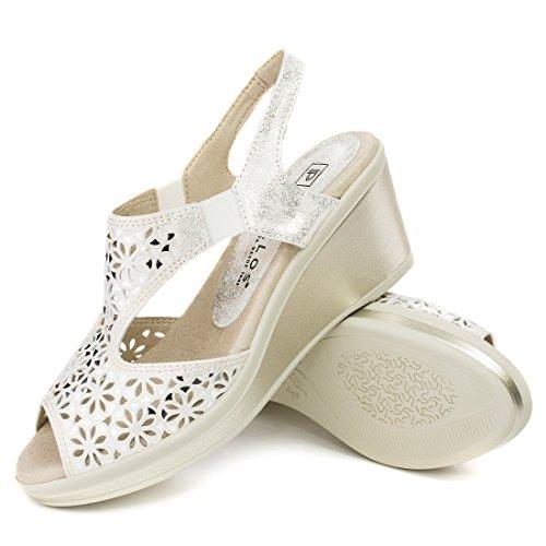 Sandalia Piel CmPlataforma Delicado 2 Vestir Cuña Pitillos 7 Cm 8wN0OnPkX