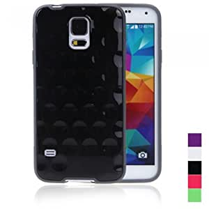 Andoer TPU Protective Back Case Shell Cover for Samsung Galaxy S5 i9600 Black