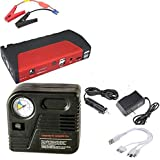 Charger for mobiles, electronics and charge the car battery with compressor of 288800 mAp