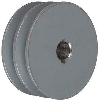 "TB Woods 2AK3258 FHP Bored-To-Size, 3.25"" Outside Body Diameter, 0.625"" Bore Diameter V-Belt Sheave"