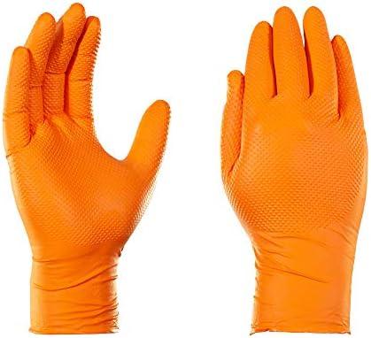 Marigold Industrial Hi Viz thermique latex Palm Gants Orange Grand