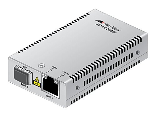 ALLIED TELESIS at MMC2000 - Fiber Media Converter - Gige - AT-MMC2000/SP-90