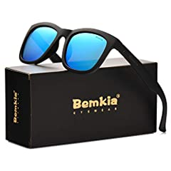 FIND BemkiaBemkia Vision loves the sunshine, natural beauty, and of course - beautiful eyes. We design each of our glasses with comfort, lift, and spirituality in mind to fit your lifestyle.Specification Wayfarer Stlye Frame: Plastic  Lens:Po...