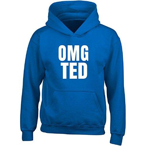 Ted Adult Hoodie (Omg Ted Great Birthday Gift Funny Name - Adult Hoodie 3xl Royal)