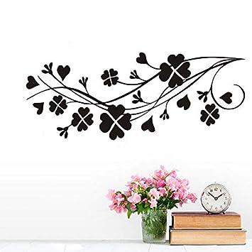Pegatinas de pared Extraíbles Trébol de cuatro hojas para niños ...