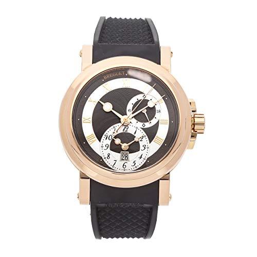 Breguet Marine Mechanical (Automatic) Silver Dial Mens Watch 5857BR/Z2/5ZU (Certified Pre-Owned) (Breguet Watches Men)
