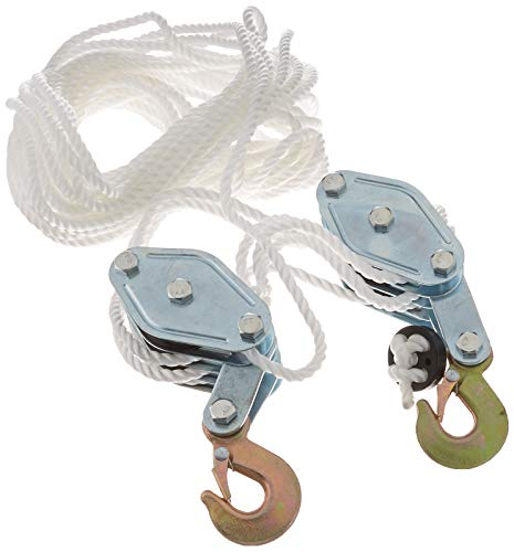 - Generic Rope Pulley Block and Tackle Hoist