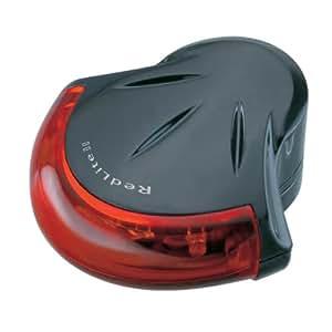 Topeak RedLite II - Luz trasera, color negro y rojo