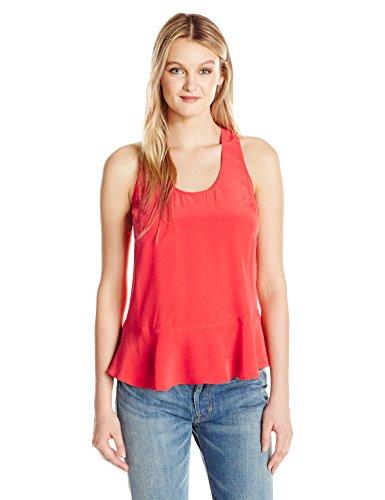 Joie Women's Cosma Top, Grenadine, XS - Red Collection Zip Top