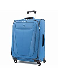 Travelpro Maxlite 5 Expandable Spinner Luggage 25-Inch, Azure Blue, One Size (Model:401176527)