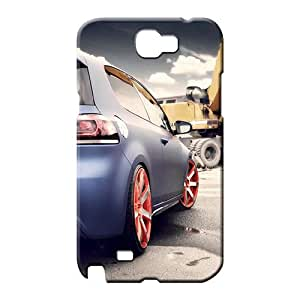 samsung note 2 Excellent Fitted Slim Fit colorful phone carrying cover skin blue golf gti