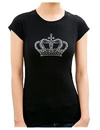 CROWN Rhinestone/ stud T-Shirts