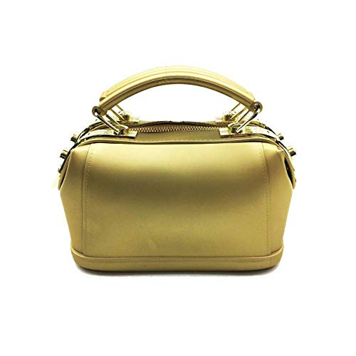 Moda Apple Oro Tamaño Una Sola color Lindo Tamaño Un Bolso Bolsa Mano Mate Mensajero Negro La Con Mujer De Jalea 4wt7pA