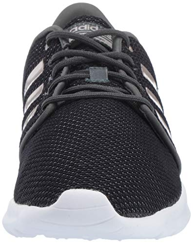adidas Women's Cloudfoam QT Racer, Legend Ivy/Platino Metallic/Black, 5.5 M US by adidas (Image #4)