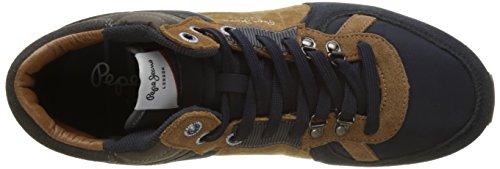 para Jeans Azul Boot London Zapatillas Marine Tinker Hombre Pepe West d4owYOUxdq