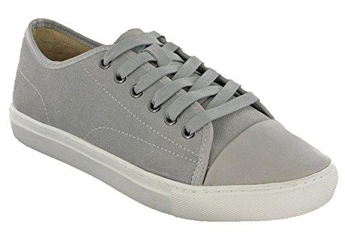 Marks & Spencer Sneaker Uomo, Grigio (Grey Suede), 40