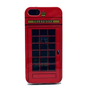 JOE Fmouse Telephone Box Pattern Soft Cover Case for iPhone 5/5S