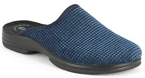 Para Hombre Casa De Azul Tela Turquesa Estar Inblu Por Zapatillas 43 H0q6RY