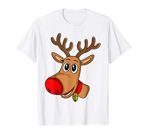 RUDOLPH Red Nose Reindeer T-Shirt | Donner Blitzen Shirt