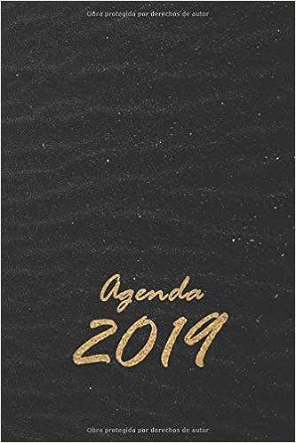 Agenda 2019: planeador semanal con días festivos anotados ...