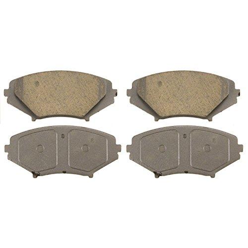 Wagner ThermoQuiet QC1009 Ceramic Disc Pad Set, Front ()