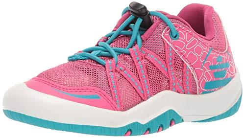 Kamik Girls' Scout Sneaker, Pink/Purple, 1 M US Little Kid