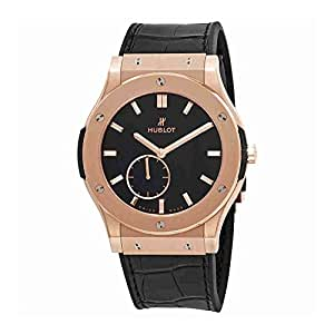 Hublot Classic Fusion Classico Ultra Thin18k Rose Gold Hand Wound 45mm Mens Watch 515.OX.1280.LR