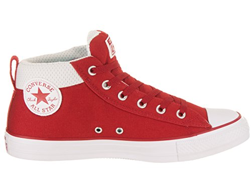 Street Converse 4 Rouge Unisexe 5 blanc gym m Chuck Us Gym Rouge Star Taylor All TXaTxwrZ