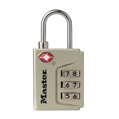 - Master Lock 4687DNKL Instant Alert TSA Accepted Luggage Lock