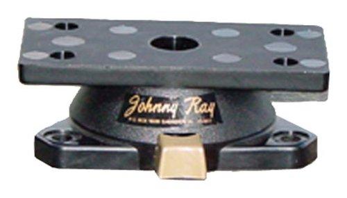 Marine Swivel Mount (Johnny Ray JR-400 Marine 1.25 by 2.875-Inch Top Push-Button Release Portable Sonar Swivel Mount, Black)