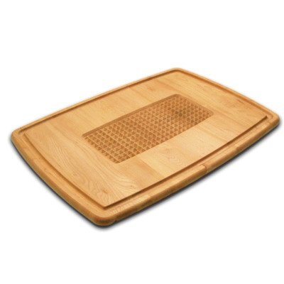 Snow River Maple Pyramid Carving and Cutting Board