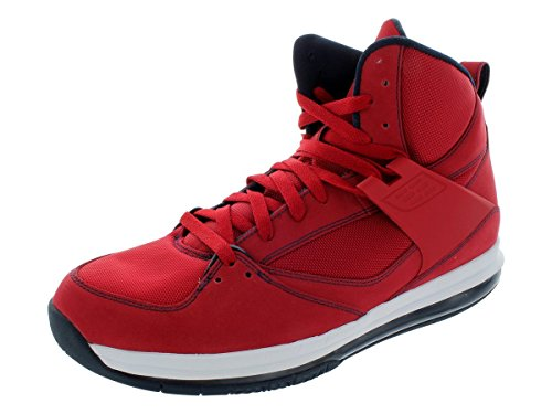 Nike Men's NIKE JORDAN FLIGHT 45 HIGH MAX BASKETBALL SHOES 11 (GYM RED/OBSIDIAN/WHITE) by NIKE