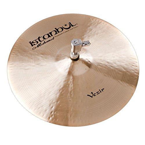 Istanbul Mehmet Cymbals Custom Series HHV13 13-Inch Vezir Hi-Hat Cymbal ()