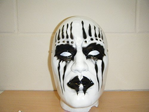 WRESTLING MASKS UK Men's Joey Jordison Slipknot Fancy Dress Wrestling Mask One Size Multicoloured