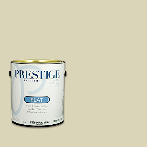 Prestige, Greens and Aquas 9 of 9, Interior Paint and Primer In One, 1-Gallon, Flat, Pale Avocado