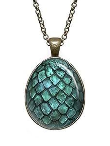 Dragon Egg Necklace, Game of Thrones Pendant, Geek Jewelry, Girl Gift, Birthday Gifts, khaleesi, Daenerys Targaryen