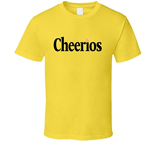 (Cheerios Cereal Fan T Shirt L)