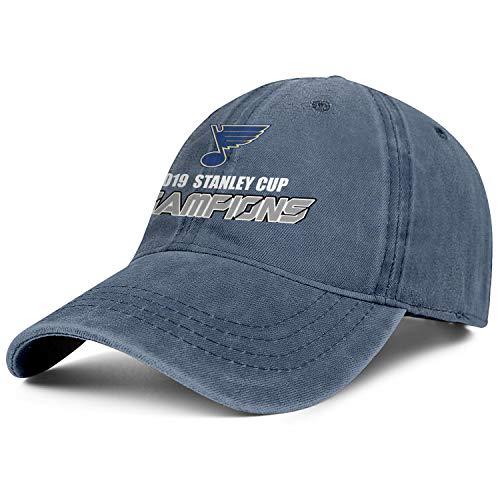 Kaplili Men&Women Peaked Cap Classic Blue Snapback Hat Baseball Caps Hats