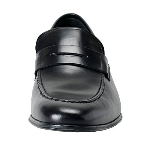 13EE Loafers EU 12EE Leather Salvatore Shoes Black Mens Ferragamo Penny US 46EE Casual Rocco IT nZZwqvYOxa