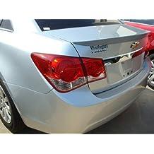Elite ABS306A-WA636R Chevrolet Cruze 2011 Plus Lip Ducktail Style Spoiler Painted, Silver Ice Metallic