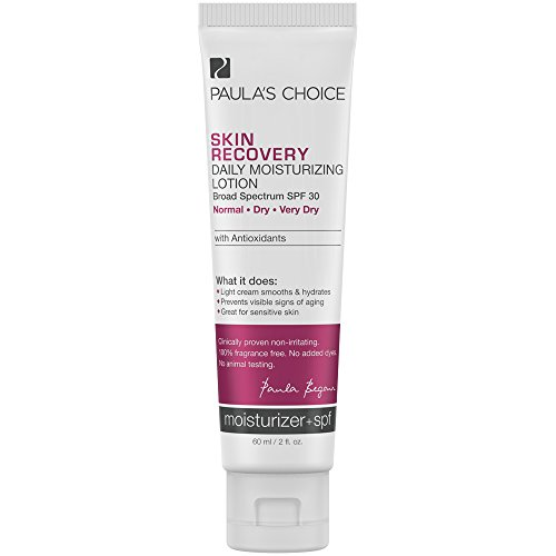 Paula's Choice SKIN RECOVERY Daily Moisturizing Lotion SPF 30 Mineral Sunscreen for Dry and Sensitive Skin - 2 oz -  1460
