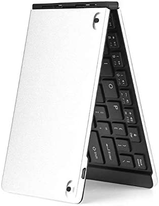Ultra Thin Folding Bluetooth Keyboard Wireless Foldable 69 Keys Keypad for Android IOS Windows Laptop Tablet PC Sala-Deco