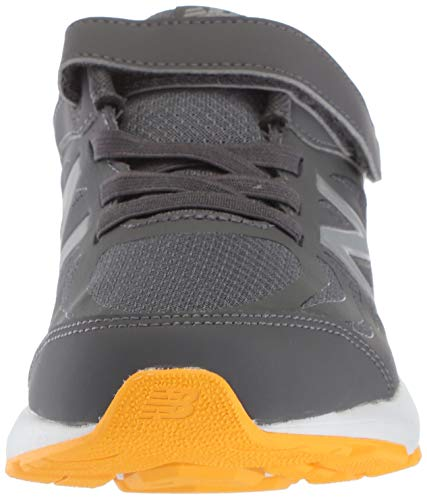 New Balance Boys' 519v1 Hook and Loop Running Shoe, Magnet/Phantom, 2 M US Infant by New Balance (Image #4)
