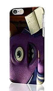 Anime Monster University Promo Custom Hard Plastic 3D cell Phones Case for Apple iphone6 - iphone 6 4.7 inch Case Cover