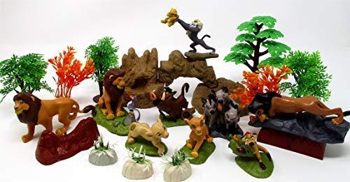 LION KING Play Set Featuring Random Lion King Figures and Accessories, May Include Simba, Scar, Mufasa, Nala, Rafiki, Timon, Pumbaa Figures (Zazu Lion King)
